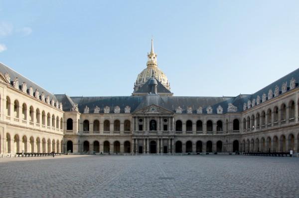 Cour d'honneur - Hôtel National des Invalide