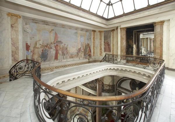 L'Escalier et la Fresque de Tiepolo