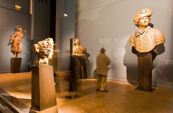 Salle des sculptures