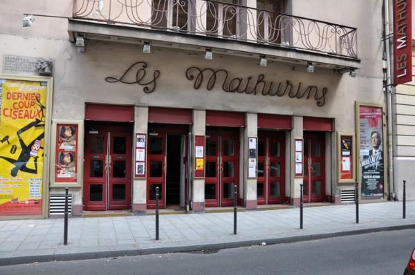 Théâtre des Mathurins : façade