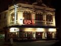 Théâtre Montparnasse : façade de nuit