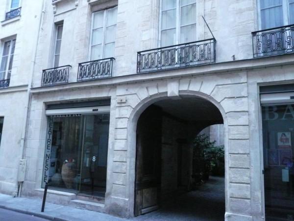 Théâtre de Nesle : façade