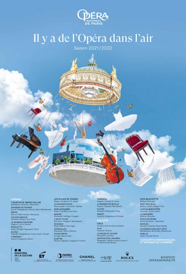 Opéra de Paris - Saison 2021-2022