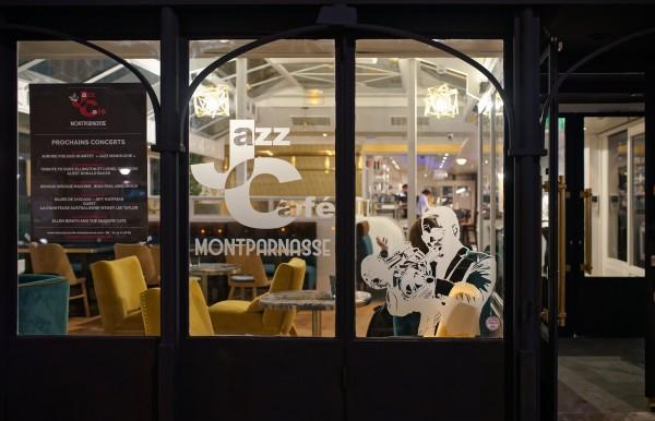 Devanture du Jazz Café Montparnasse