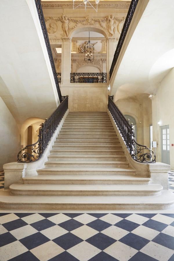Musée Picasso - Escalier d'honneur