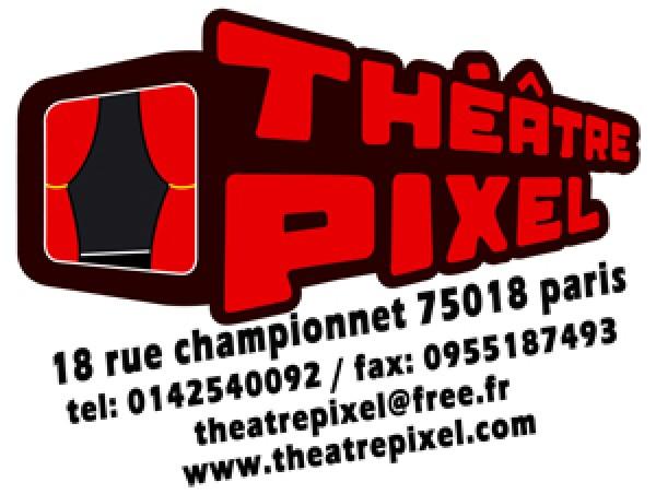 Logo Théâtre Pixel