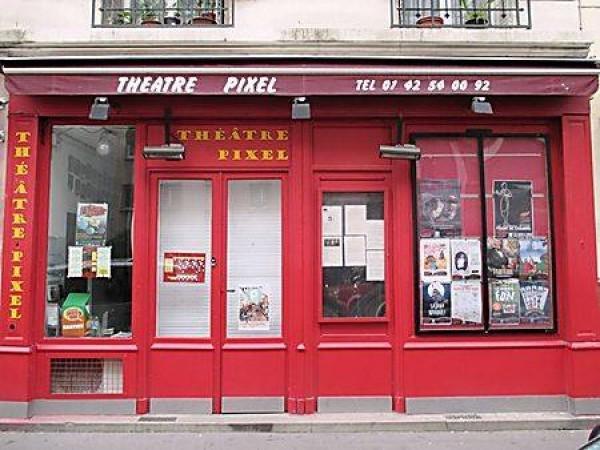 Théâtre Pixel : façade