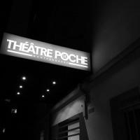 Théâtre de Poche-Montparnasse : enseigne