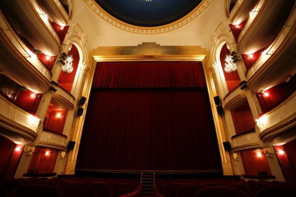 Théâtre de la Porte Saint-Martin : salle