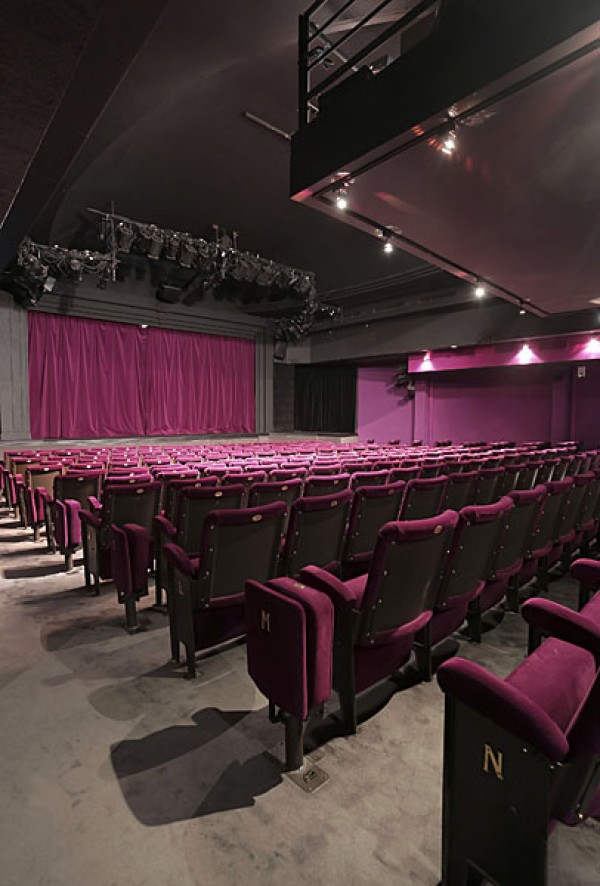 Théâtre Rive Gauche - Salle fond côté jardin