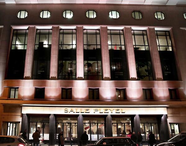Salle Pleyel - façade