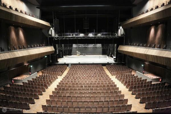 Salle Pleyel - vue depuis le 1er balcon