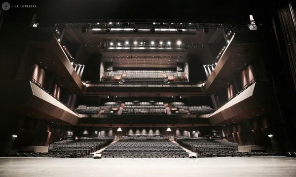 Salle Pleyel - vue depuis la scène