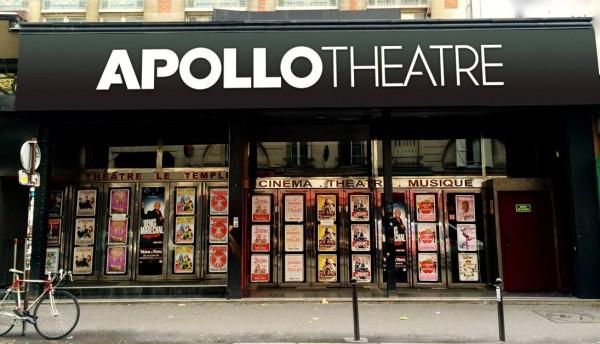 Apollo Théâtre : façade