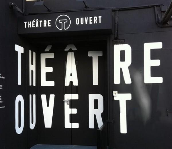 Théâtre Ouvert : porte d'entrée
