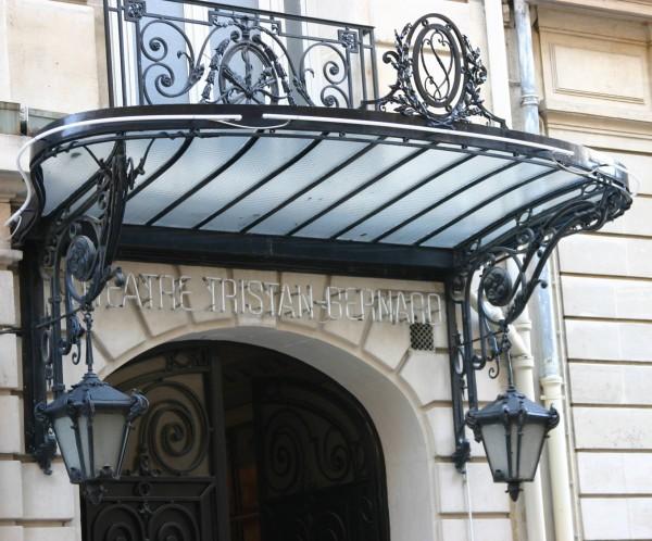 Théâtre Tristan-Bernard : entrée