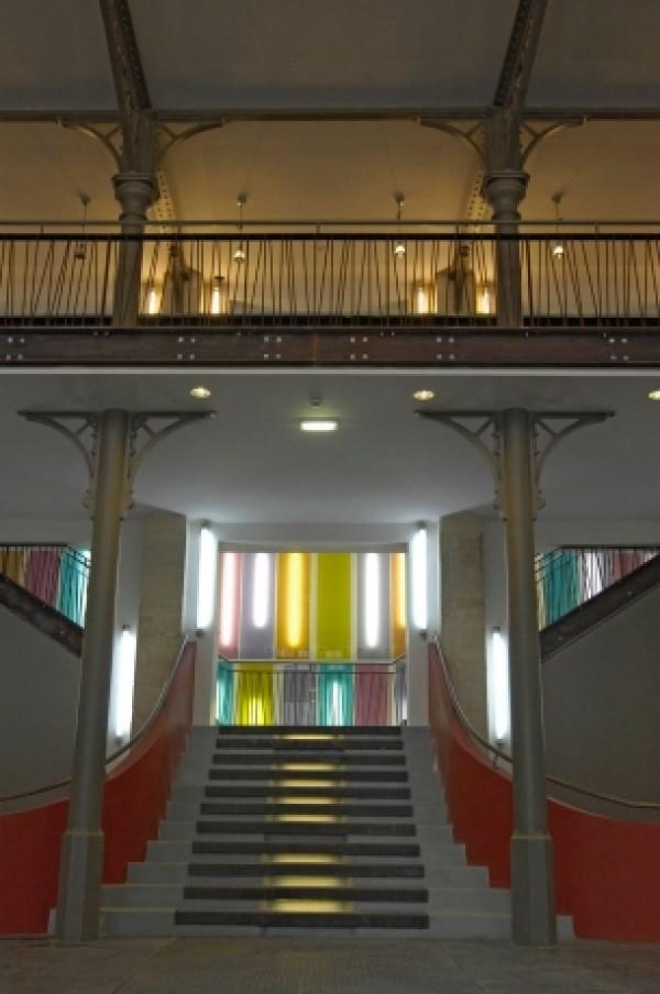 Maison des métallos : escalier
