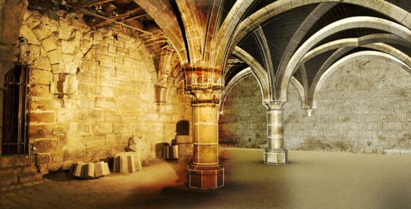 Cellier de la Maison d'Ourscamp