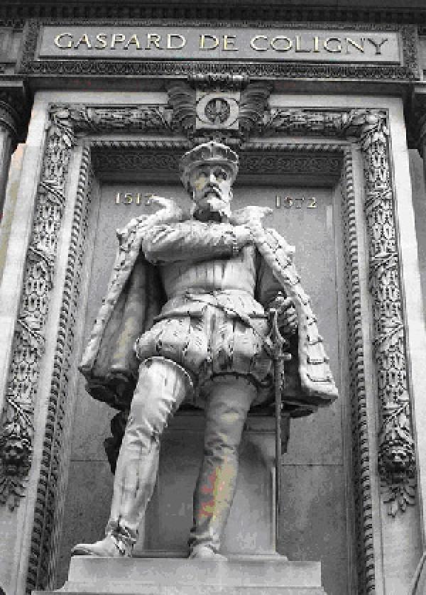 Statue de Gaspard de Coligny