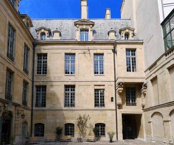 Hôtel de Lauzun - Cour intérieure