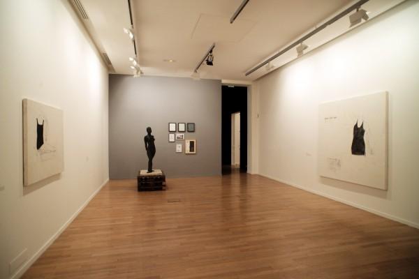 Vue de l'Exposition Juliao Sarmento, 2016.