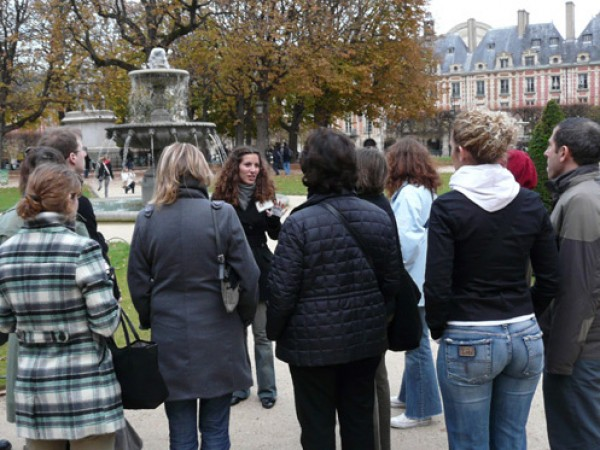 Aime Paris : visite Marais