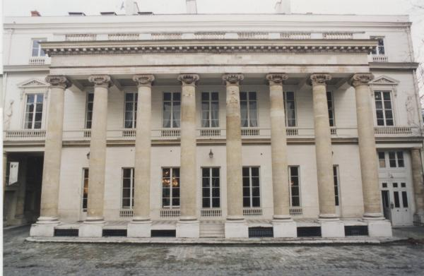 Façade Istituto Italiano di Cultura Paris