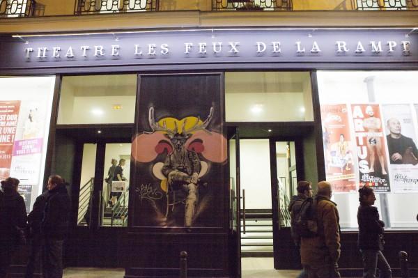 Théâtre Les Feux de la Rampe : façade