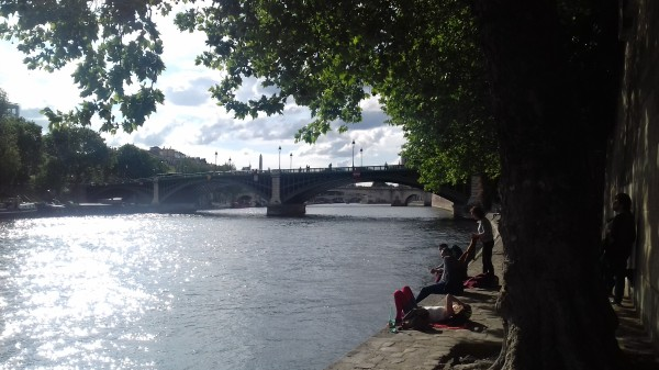 Pont Sully vers l'ouest