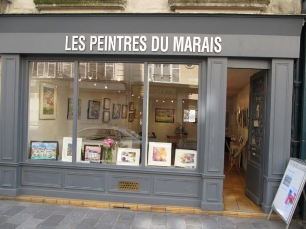 Atelier des peintres du marais paris 4e l 39 officiel des - Atelier du marais agencement ...