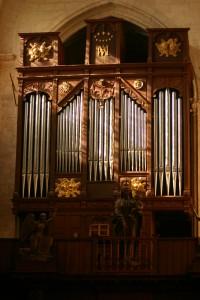 orgue de Notre Dame du Fort à Etampes