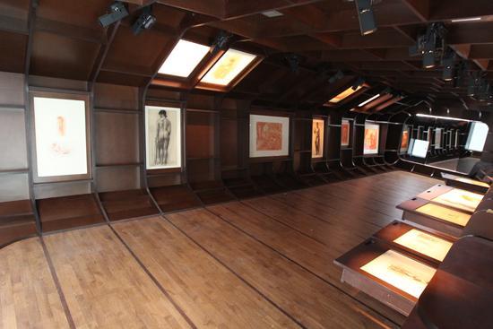 Musée Paul Belmondo - Salle des dessins - 3e étage