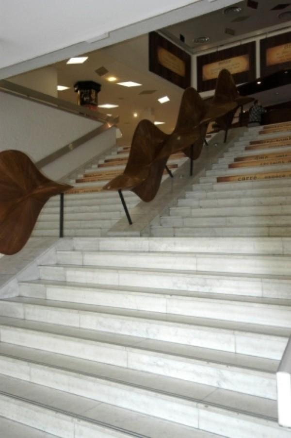 Théâtre de Corbeil-Essonnes : escaliers