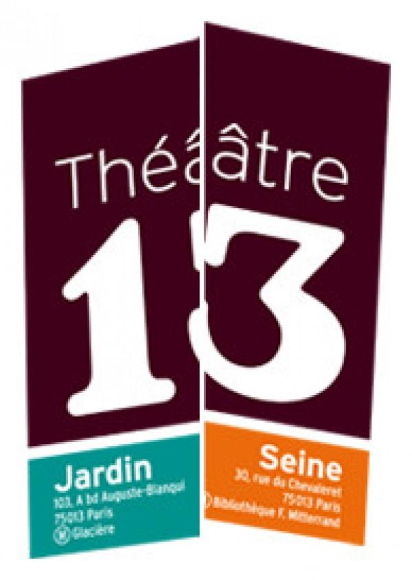Théâtre 13 - Logo