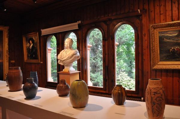 Collection des objets d'art dans le musée Roybet Fould