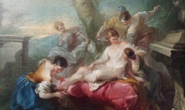 Bethsabé au bain par Van Loo