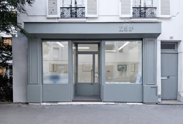 22,48 m² - Façade