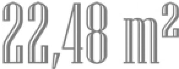 22,48 m - Logo