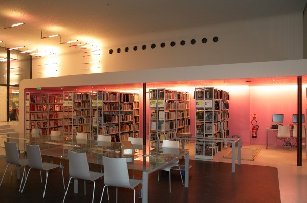Bibliothèque du cinéma François Truffaut : salle de lecture