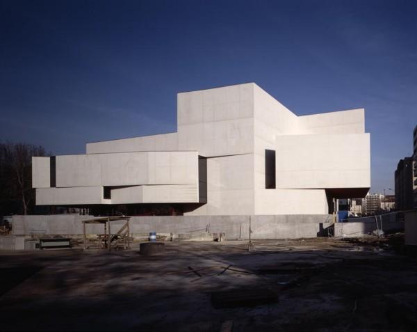 Vue du Nouveau Théâtre de Montreuil