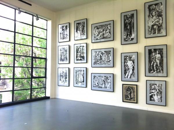 Musée Mendjisky-Écoles de Paris : vue intérieure