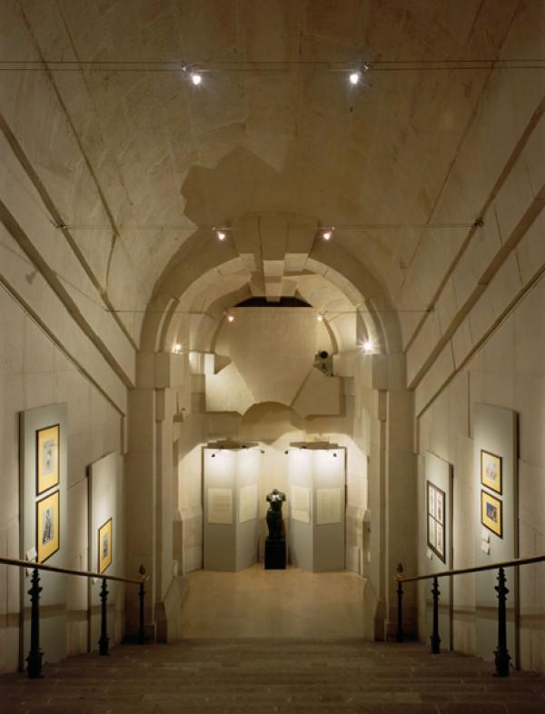 Bibliothèque-musée de l'Opéra - Palais Garnier : escalier