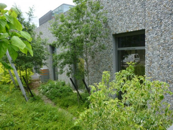 Façade de la Terrasse - Espace d'art de Nanterre