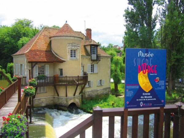 Musée du Sucre d'orge : le moulin