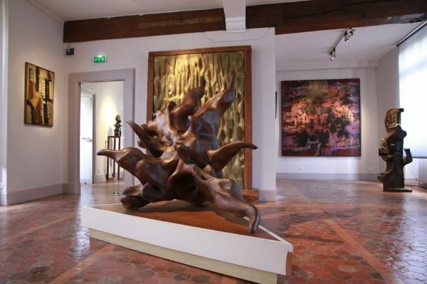 Musée d'Art et d'Histoire de Meudon - Salle art des années 1950.