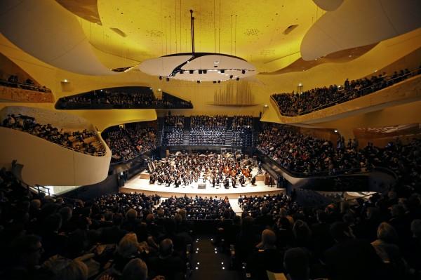 Philharmonie de Paris : grande salle