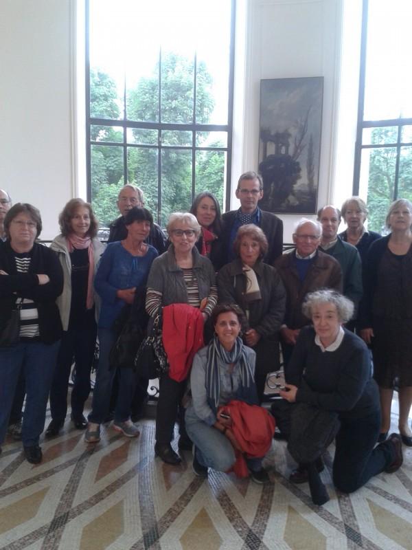 Bertrand Catry lors d'une visite-conférence au Petit Palais