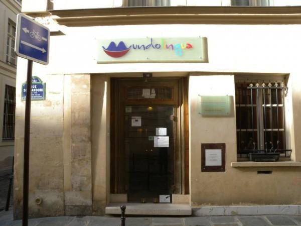 Mundolingua, entrée