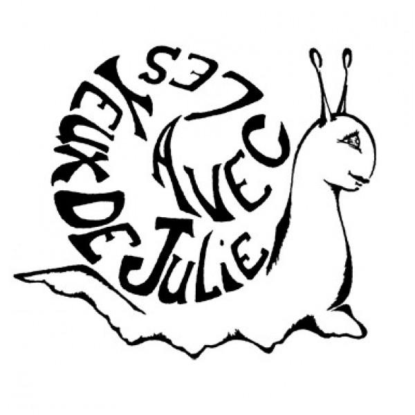 Logo Avec les yeux de Julie
