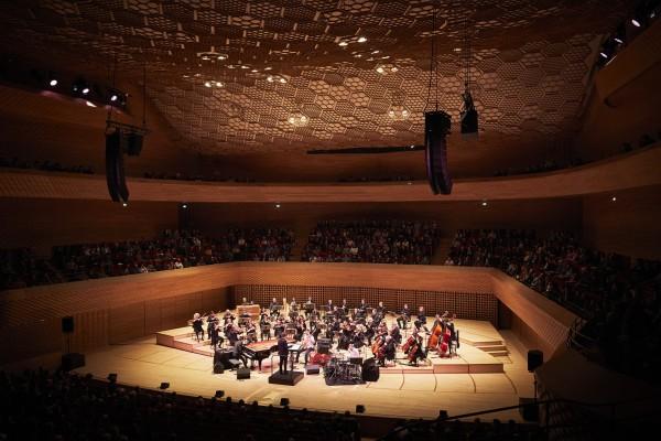 Un concert dans l'Auditorium de la Seine musicale